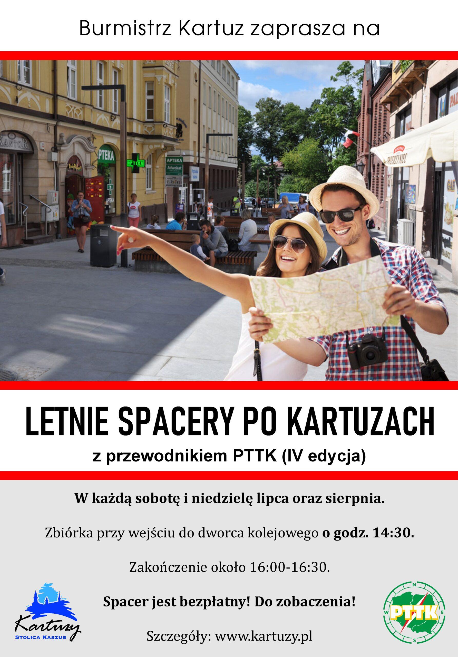 LETNIE SPACERY PO KARTUZACH